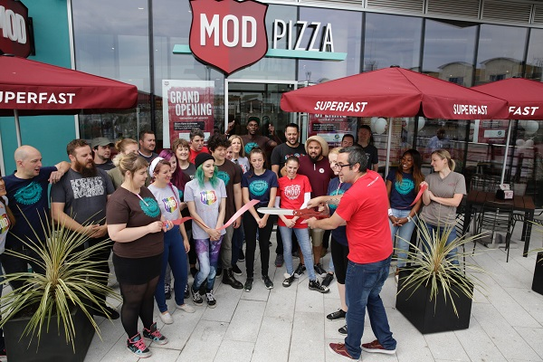 Ground Breaking Us Pizza Brand Mod Pizza Coming To Brighton