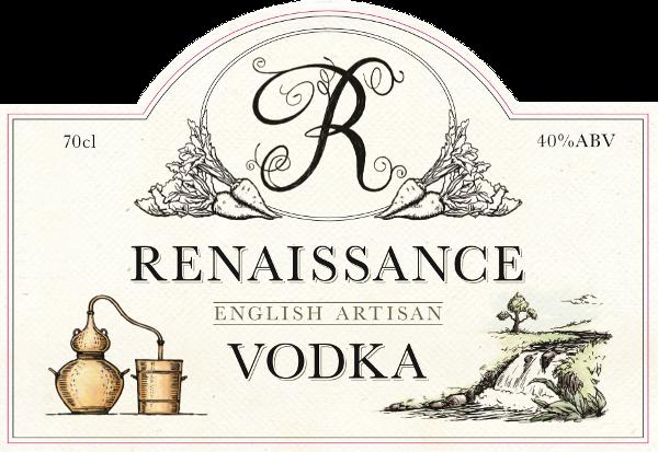 Renaissance Vodka Label